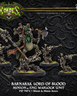 Privateer Press - PIP Hordes - Minions -  Barnabas Lord of Blood - Epic Warlock Unit (Barnabas 2)