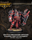 Privateer Press - PIP Warmachine - Khador - Battle Mechanik Officer