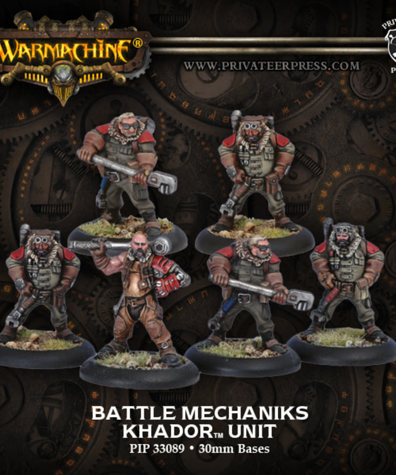 Privateer Press - PIP Warmachine - Khador - Battle Mechaniks