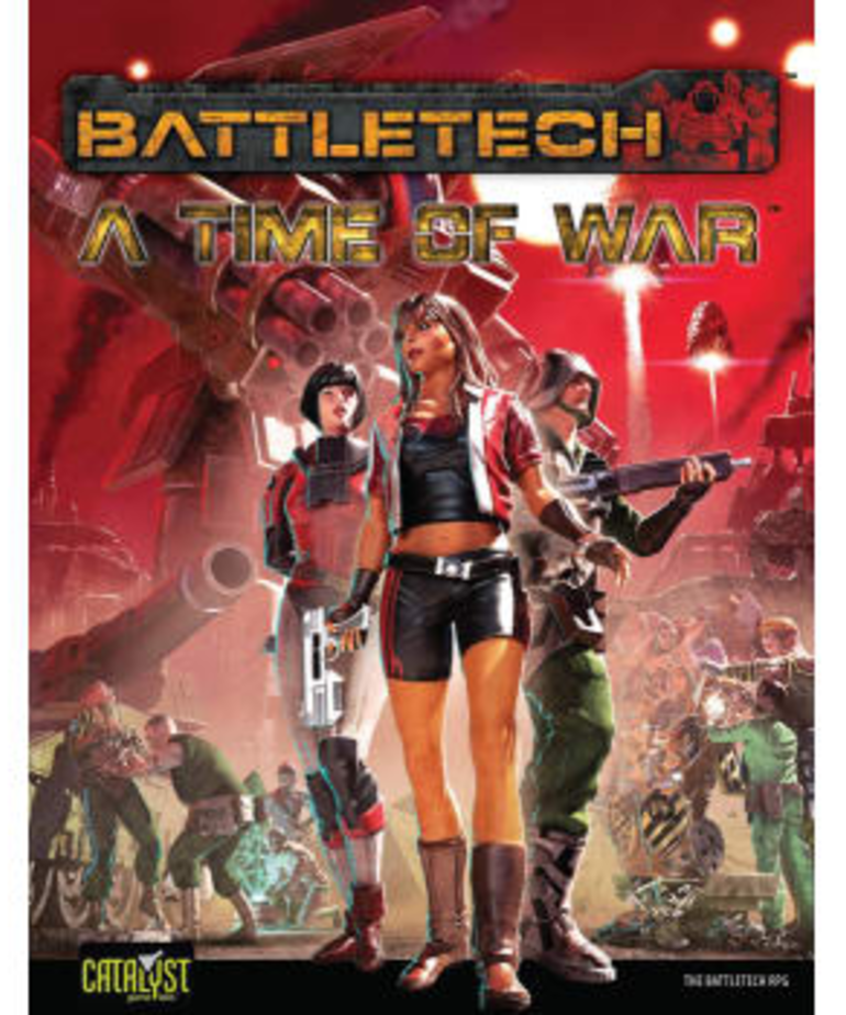 Catalyst Game Labs - CYT Battletech: A Time of War (Domestic Orders Only)