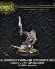Privateer Press - PIP Hordes - Legion of Everblight - Bayal, Hound of Everblight Hex Hunter Officer - Unit Attachment