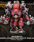 Privateer Press - PIP Warmachine - Khador - Behemoth - Character Heavy Warjack