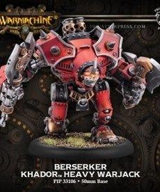 Privateer Press - PIP Warmachine - Khador - Berserker / Mad Dog / Rager - Heavy Warjack