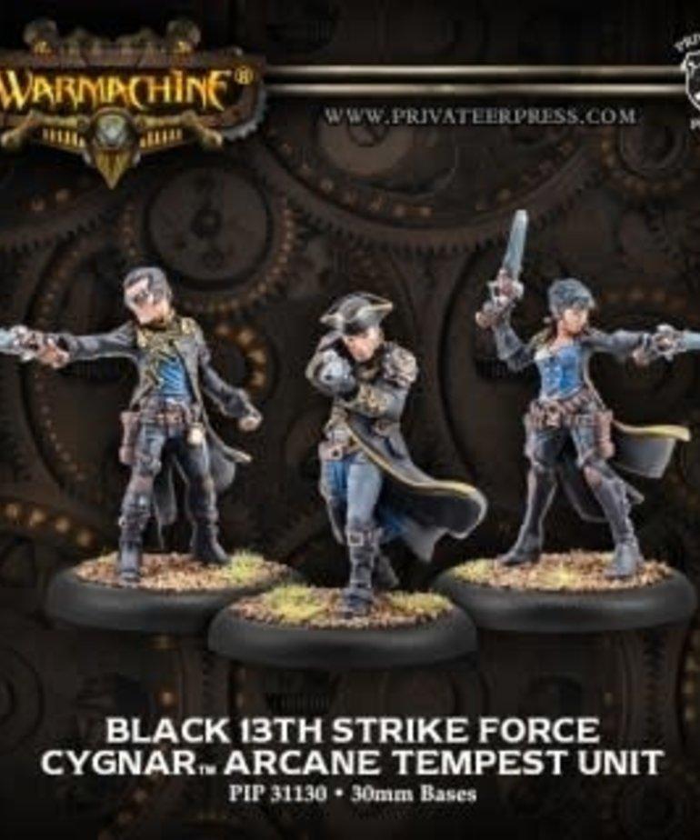 Privateer Press - PIP Warmachine - Cygnar - Black 13th Strike Force - Arcane Tempest Unit