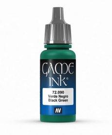 Vallejo - VJP Vallejo: Game Ink - Black Green Ink