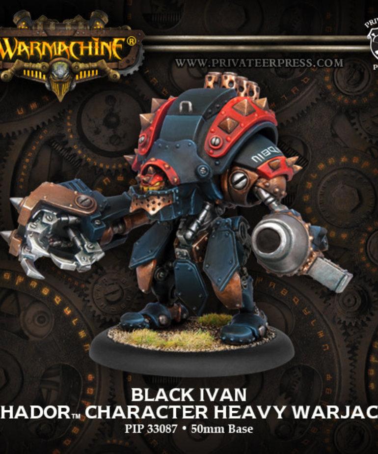 Privateer Press - PIP Warmachine - Khador - Black Ivan - Character Heavy Warjack