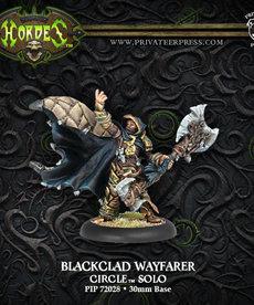 Privateer Press - PIP Hordes - Circle Orboros - Blackclad Wayfarer - Solo