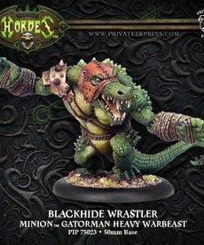Privateer Press - PIP Hordes - Minions -Blackhide Wrastler / Blind Walker - Gatorman Heavy Warbeast
