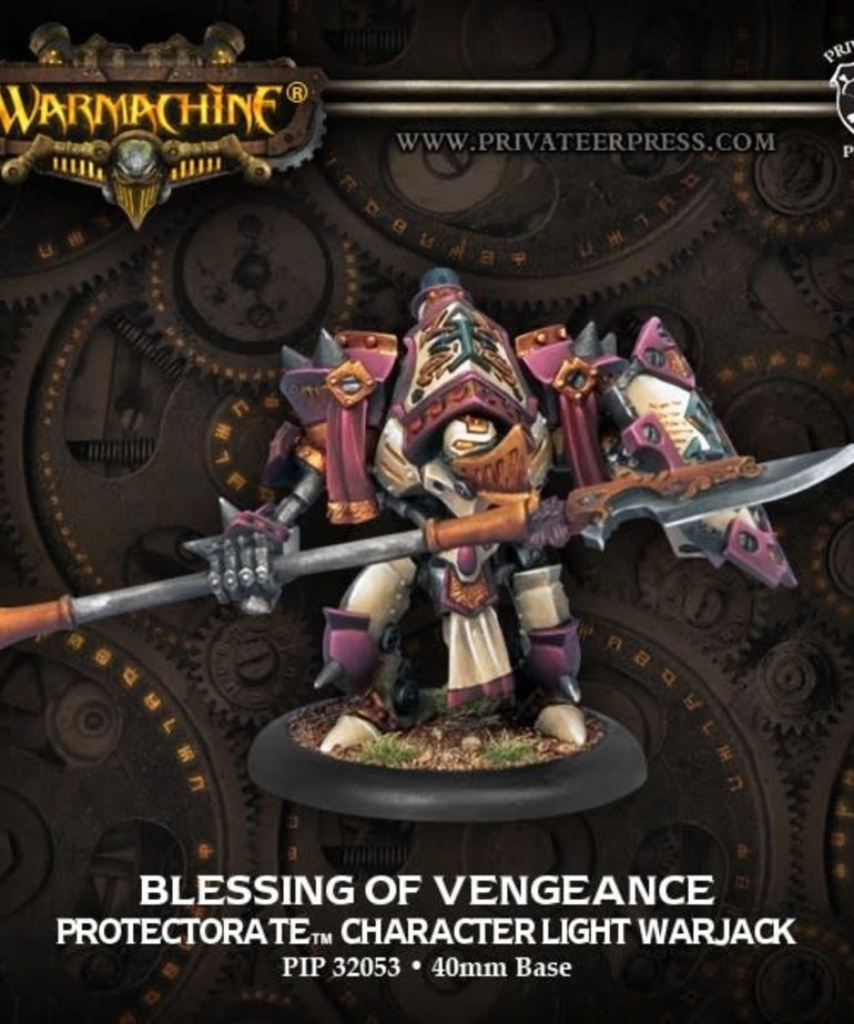 Privateer Press - PIP Warmachine - Protectorate of Menoth - Blessing of Vengeance - Character Light Warjack