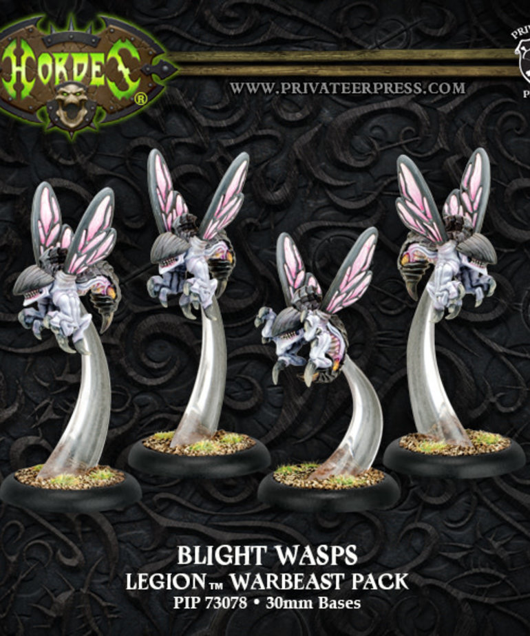 Privateer Press - PIP Hordes - Legion of Everblight - Blight Wasps - Warbeast Pack