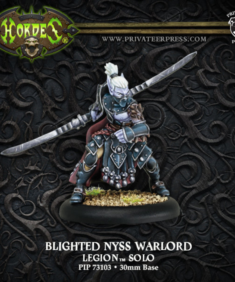 Privateer Press - PIP Hordes - Legion of Everblight - Blighted Nyss Warlord - Solo