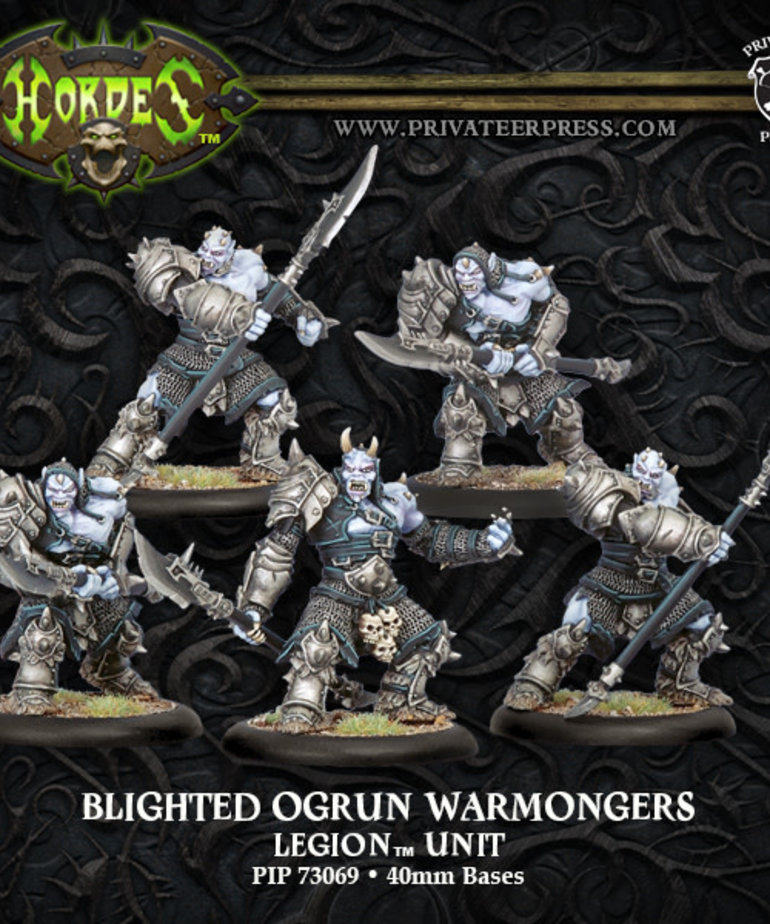 Privateer Press - PIP Hordes - Legion of Everblight - Blighted Ogrun Warmongers