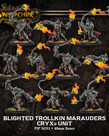 Privateer Press - PIP Warmachine - Cryx - Blighted Trollkin Marauders - Unit