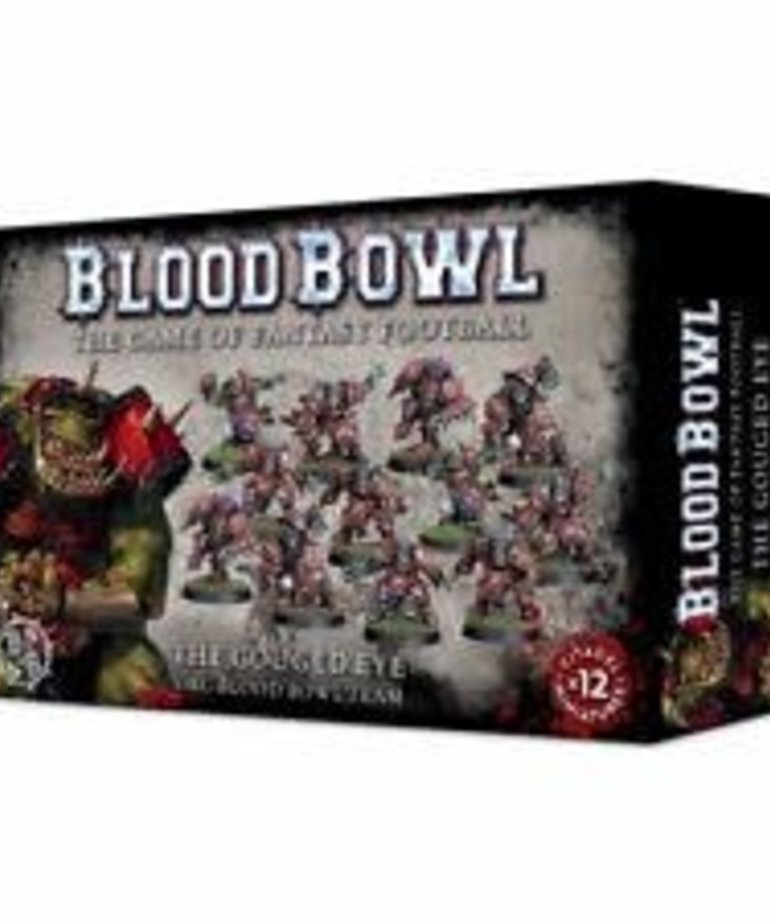 Games Workshop - GAW Blood Bowl - The Gouged Eye - Orc Team