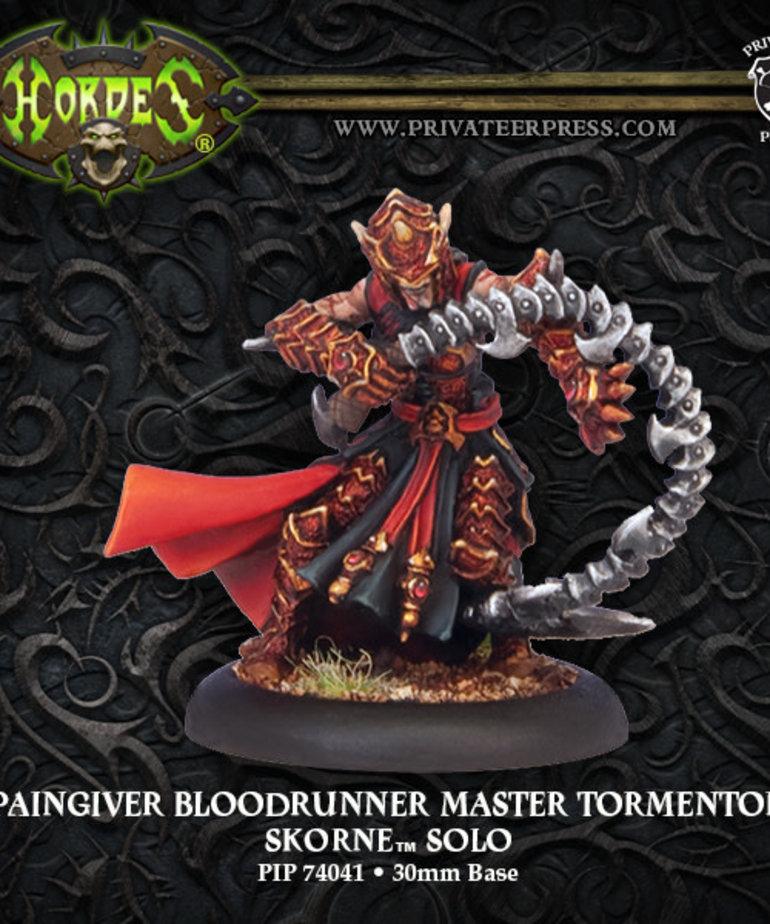 Privateer Press - PIP Hordes - Skorne - Paingiver Bloodrunner Master Tormentor - Solo
