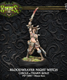 Privateer Press - PIP Hordes - Circle Orboros - Bloodweaver Night Witch - Tharn Solo