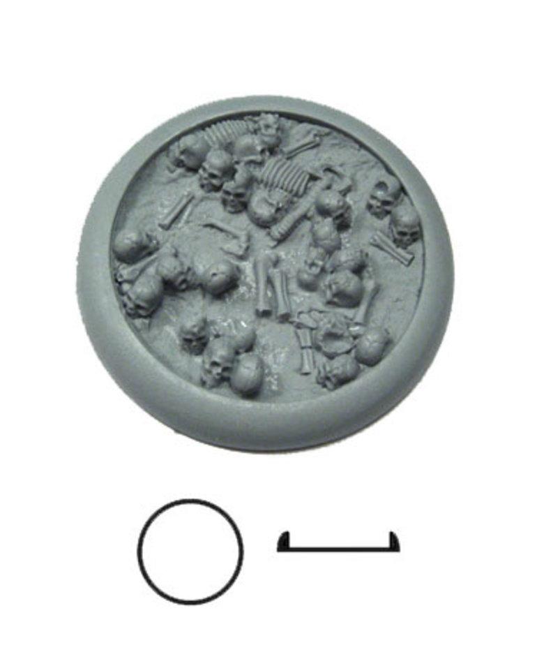 Secret Weapon Miniatures - SWM CLEARANCE Bone Fields 50mm Base 01 Secret Weapon Bases
