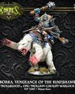 Privateer Press - PIP Hordes - Trollbloods - Borka, Vengeance of the Rimeshaws - Epic Trollkin Cavalry Warlock (Borka 1)