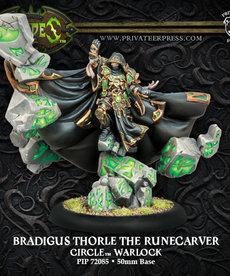 Privateer Press - PIP Hordes - Circle Orboros - Bradigus Thorle the Runecarver - Warlock (Bradigus 1)