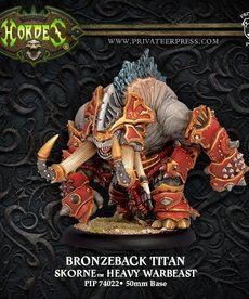 Privateer Press - PIP Hordes - Skorne - Bronzeback Titan - Heavy Warbeast