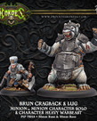 Privateer Press - PIP Hordes - Minions - Brun Cragback & Lug - Minion Character Solo & Character Heavy Warbeast