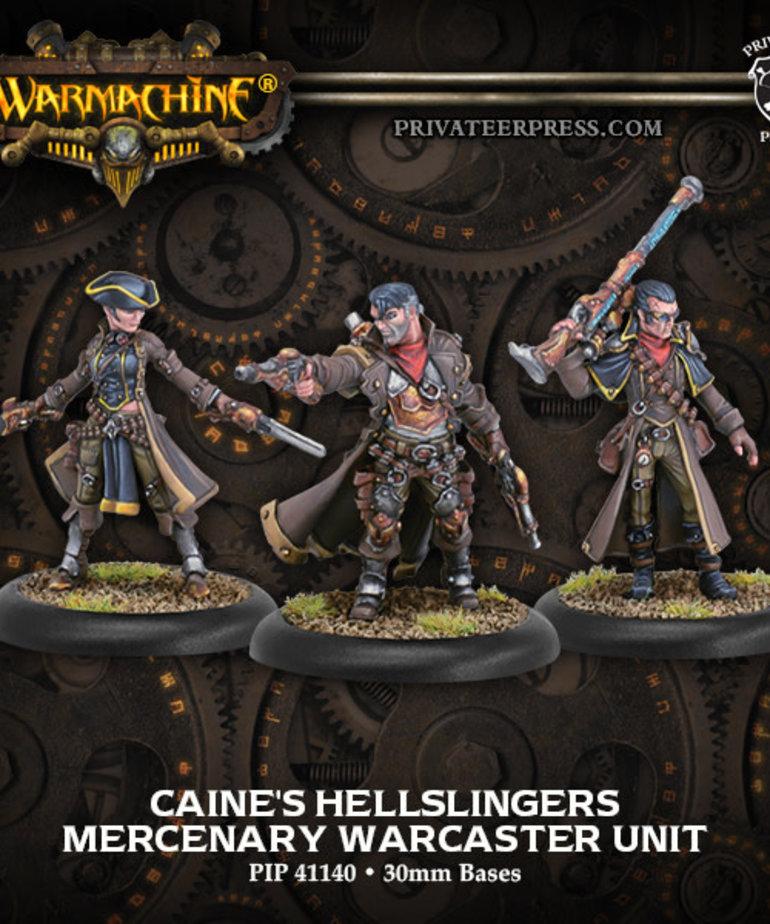 Privateer Press - PIP Warmachine - Mercenaries - Caine's Hellslingers - Warcaster Unit