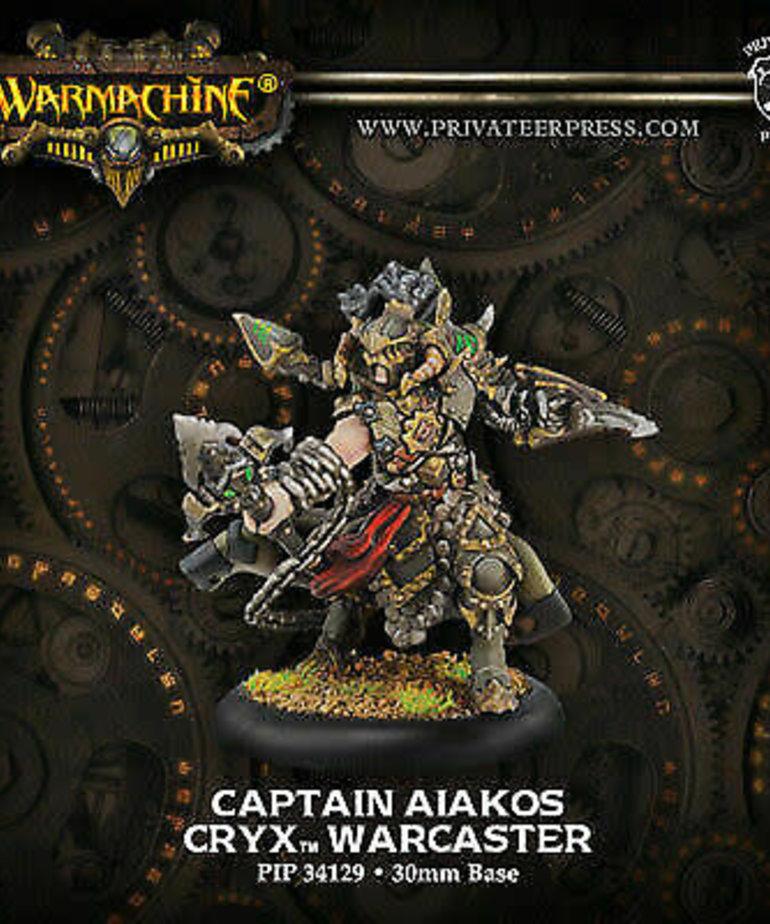 Privateer Press - PIP Warmachine - Cryx - Captain Aiakos - Warcaster (Aiakos 2)