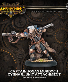 Privateer Press - PIP Captain Jonas Murdoch