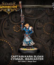 Privateer Press - PIP Warmachine - Cygnar - Captain Kara Sloan - Warcaster (Sloan 1)