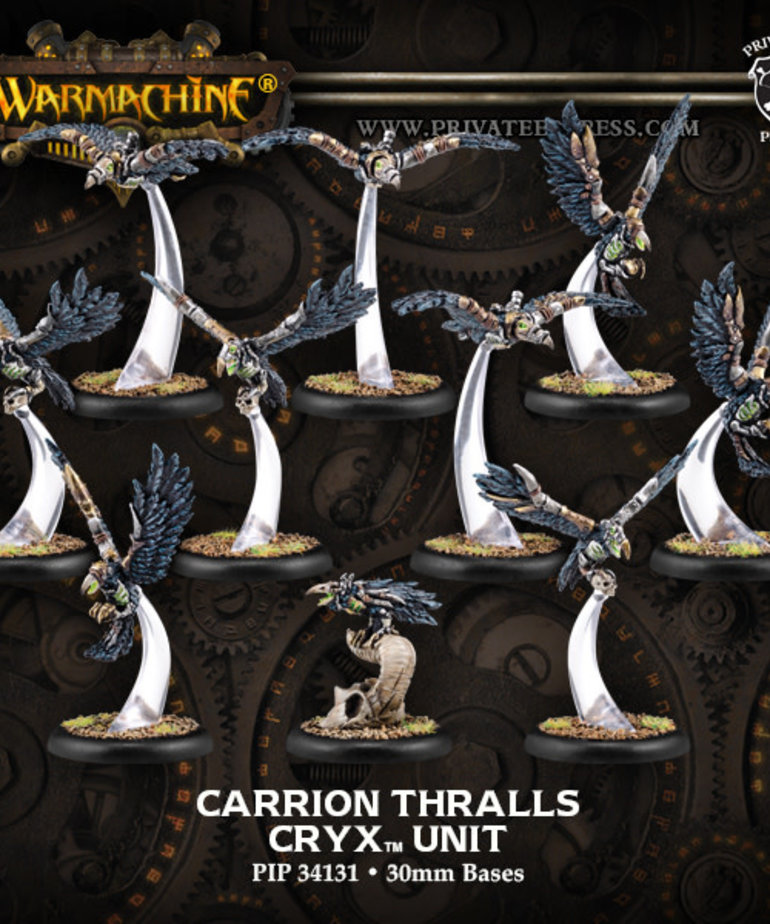 Privateer Press - PIP Warmachine - Cryx - Carrion Thralls Unit