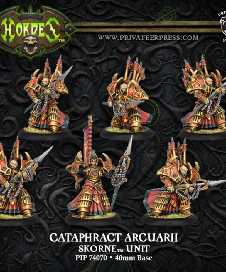 Privateer Press - PIP Hordes - Skorne - Cataphract Arcuarii - Unit