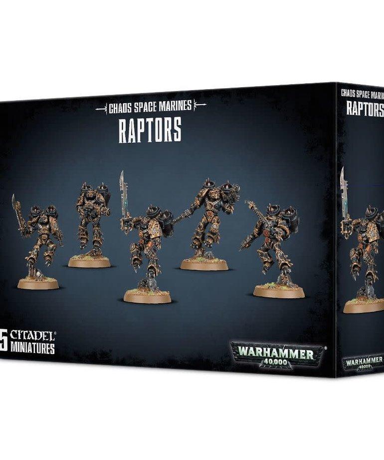 Games Workshop - GAW Warhammer 40k - Chaos Space Marines - Raptors