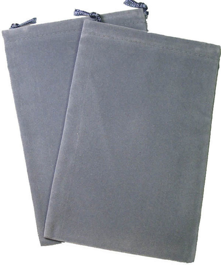 Chessex - CHX Chessex Dice Bag -  Small: Grey