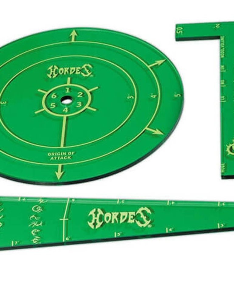 Privateer Press - PIP Hordes - Circle of Orboros - Acrylic Template Set