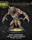 Privateer Press - PIP Hordes - Circle Orboros - Feral / Pureblood / Stalker Warpwolf