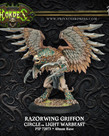 Privateer Press - PIP Hordes - Circle Orboros - Razorwing Griffon - Light Warbeast