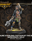 Privateer Press - PIP Warmachine - Mercenaries - Colbie Sterling, Captain of the BRI - Solo