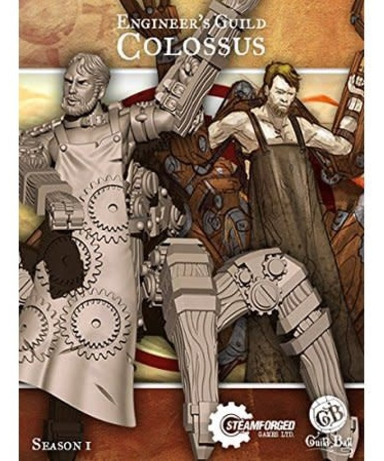 Steamforged Games LTD - STE Colossus Guild Ball BLACK FRIDAY NOW
