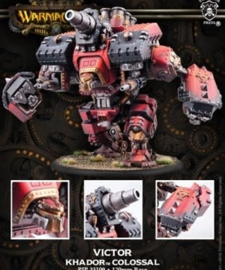 Privateer Press - PIP Warmachine - Khador - Conquest / Victor - Colossal