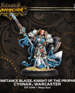 Privateer Press - PIP Warmachine - Cygnar - Constance Blaize, Knight of the Prophet - Warcaster (Blaize 1)