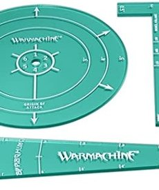 Privateer Press - PIP Warmachine - Convergence of Cyriss - Acrylic Template Set