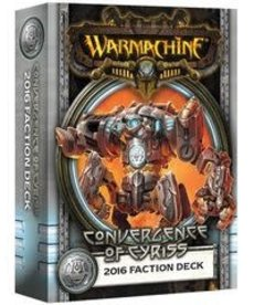 Privateer Press - PIP Warmachine - Convergence of Cyriss - 2016 Faction Deck MK III