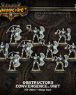 Privateer Press - PIP Warmachine - Convergence of Cyriss - Obstructors - Unit