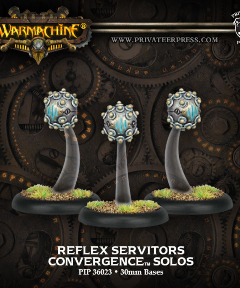 Privateer Press - PIP Warmachine - Convergence of Cyriss - Reflex Servitors - Solos