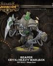 Privateer Press - PIP Warmachine - Cryx - Corruptor / Reaper / Malice - Heavy Warjack