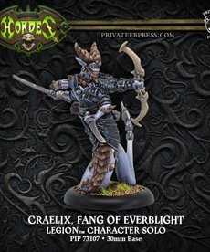 Privateer Press - PIP Hordes - Legion of Everblight - Craelix, Fang of Everblight - Character Solo