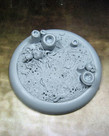Secret Weapon Miniatures - SWM CLEARANCE Creeping Infection 50mm Base 02 Secret Weapon Bases