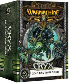 Privateer Press - PIP Warmachine - Cryx - 2016 Faction Deck MK III