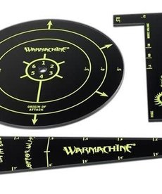 Privateer Press - PIP Warmachine - Cryx - Acrylic Template Set