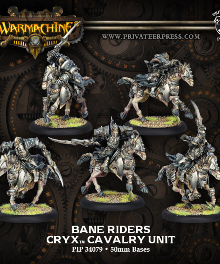 Privateer Press - PIP Warmachine - Cryx - Bane Riders - Cavalry Unit